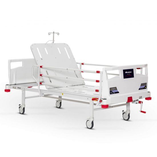 Mechanical Operated Hospital Bed, 1 Crank