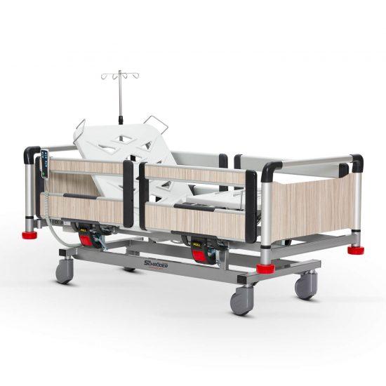 Pediatric Hospital Bed, 2 Motorised Aliminum Base