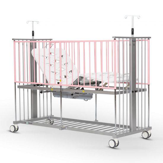 Pediatric Hospital Bed, 2 Motorised
