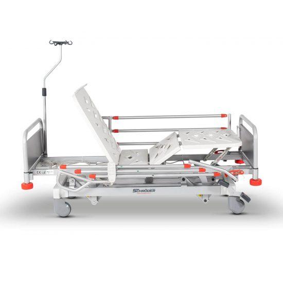 Pediatric Hospital Bed, 3 Motorised